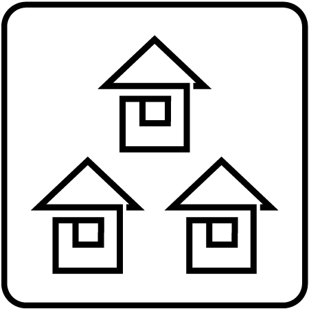 販売促進 バルーン活用 住宅、不動産展示場2