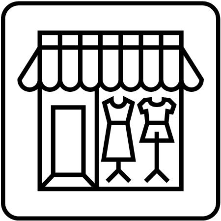 販売促進 バルーン活用 ショーウィンドウ2