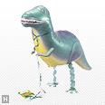 お部屋は恐竜博,恐竜,風船,バルーン,お散歩ティラノサウルス