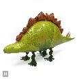 お部屋は恐竜博,恐竜,風船,バルーン,お散歩ステゴサウルス